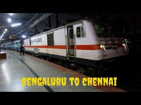 Full Journey Compilation Of Lalbagh Express from SBC To MAS