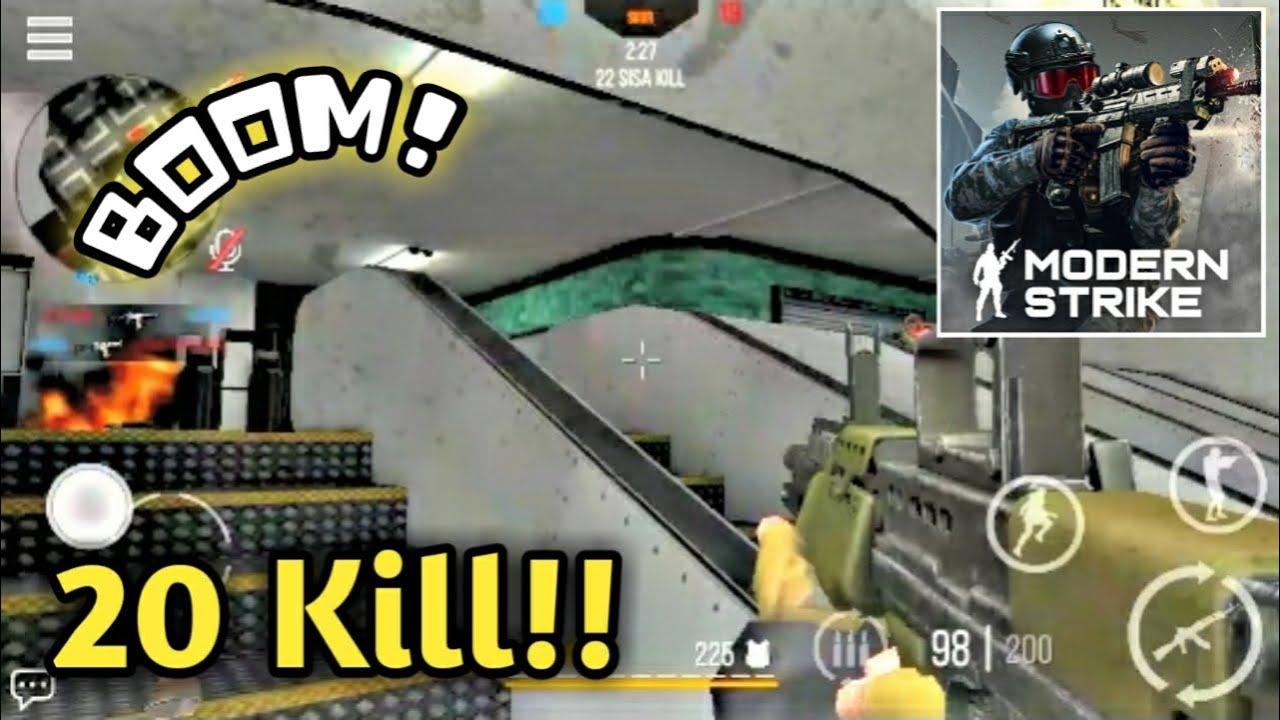 20 Kill Dalam 1 Match!! WOWW - Modern Strike Online GamePlay