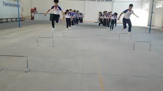 Trò chơi bổ trợ nhảy xa kiểu ngồi- Ntp