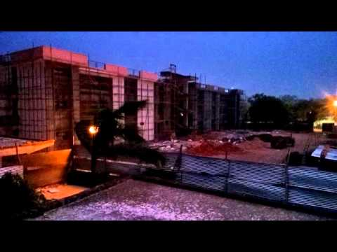 Stormy weather at IIT Kanpur (Kanpur, UP)