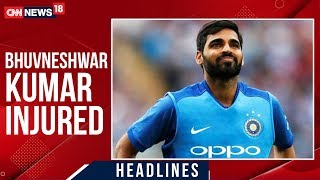 Bhuvneshwar Kumar In Doubt For 1st ODI Vs West Indies Following Injury | CNN News18