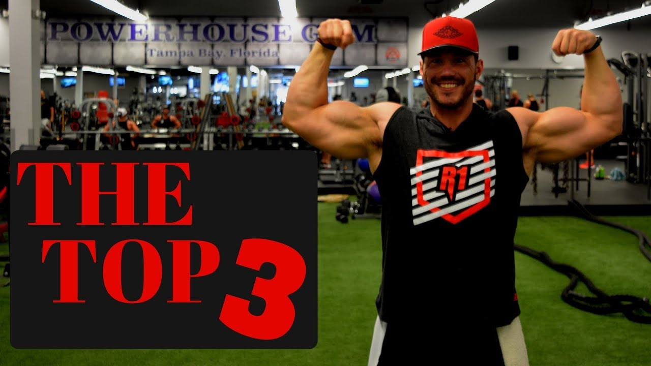 foto The best 3 exercises for a bigger chest and shoulders