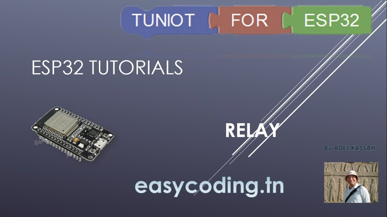 Esp32 Tutorial The Relay Youtube Motor Restart Control