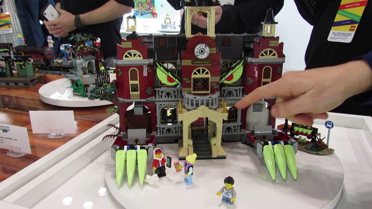 More LEGO Hidden Side Set Images from New York Toy Fair 2019