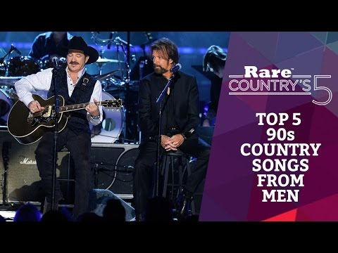 Top 5 90s Country Songs From Men | Rare Country