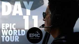Video LONGEST WATER CROSSING BY HELICOPTER | EPIC World Tour Day 11 download MP3, 3GP, MP4, WEBM, AVI, FLV Mei 2018