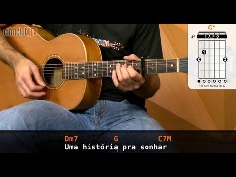 Pra Sonhar - Marcelo Jeneci (aula de violão)