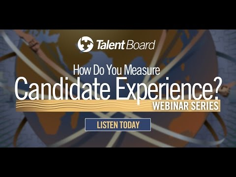 Leveraging Technology to Continuously Improve your Candidate Experience