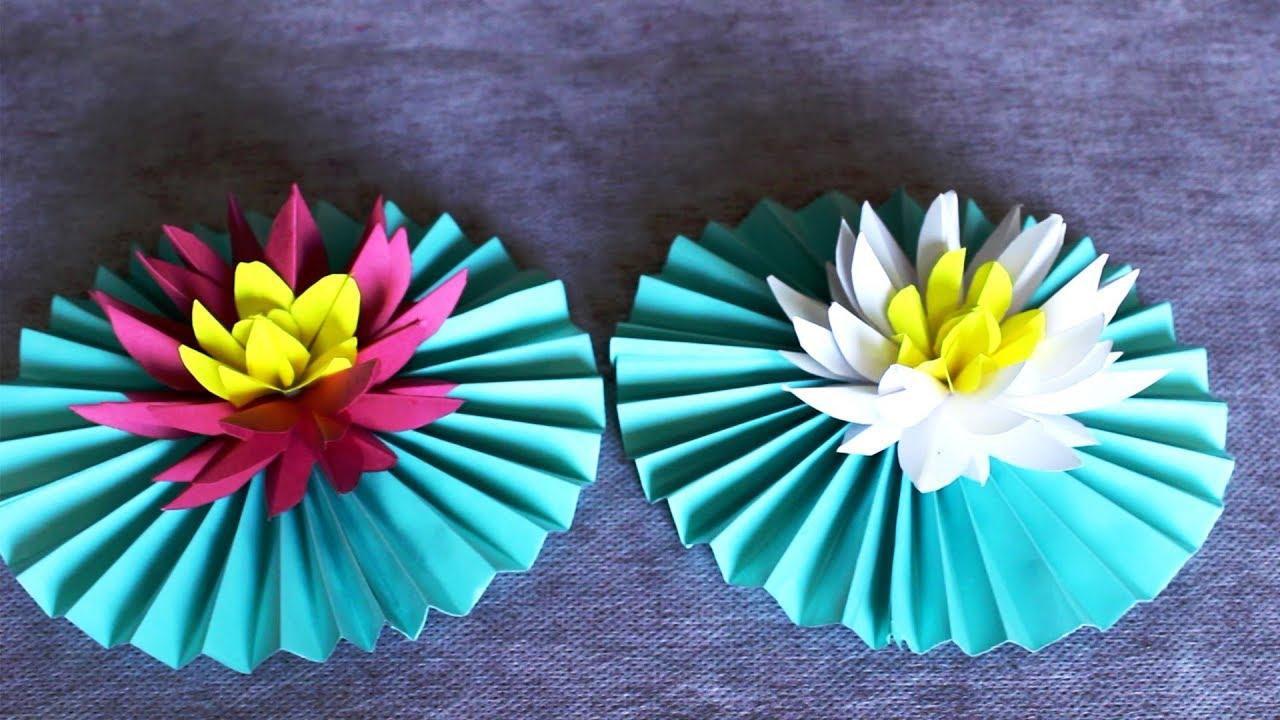 Paper lotus flower lotus flowers making paper flowers paper paper lotus flower lotus flowers making paper flowers paper crafts mightylinksfo
