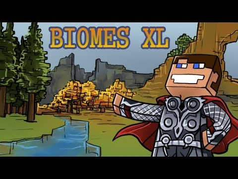 #01 Minecraft: Extra Biomes XL - First night! /PL