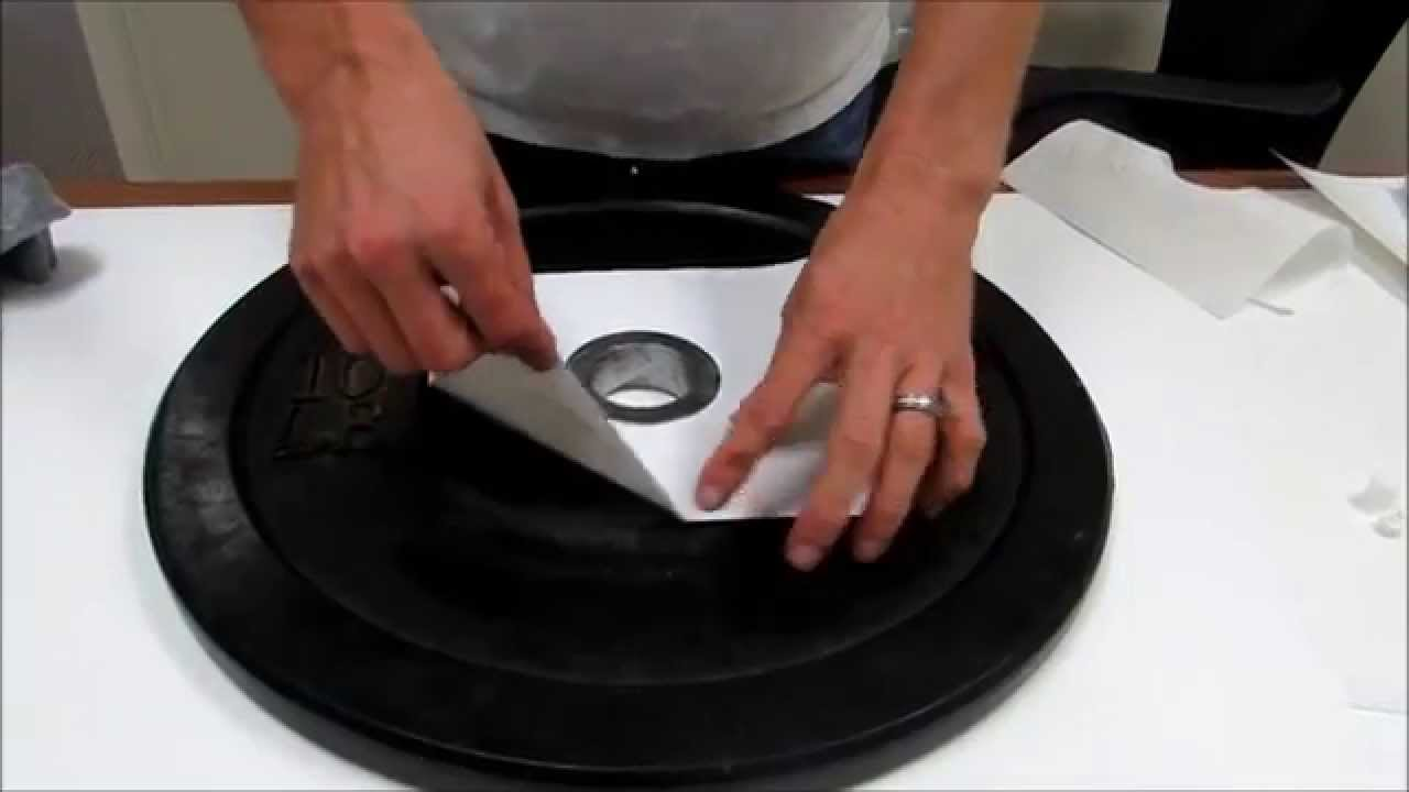 How To Make A Weight Plate Cake