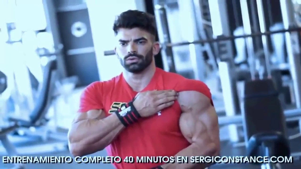 sergi constance how workout chest triceps hd new youtube