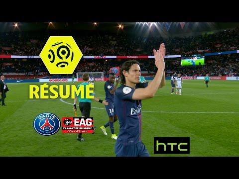 Paris Saint-Germain - EA Guingamp (4-0)  - Résumé - (PARIS - EAG) / 2016-17