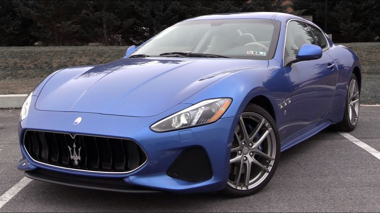 2018 maserati granturismo review youtube. Black Bedroom Furniture Sets. Home Design Ideas