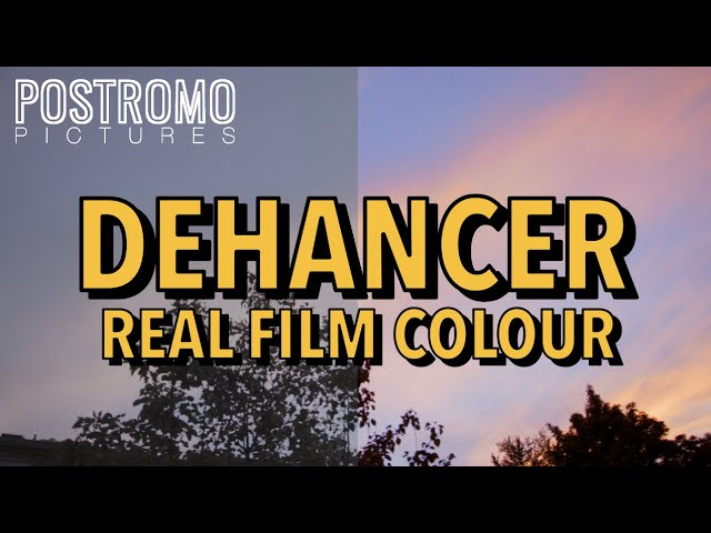 DEHANCER – The Newest Film Emulation Software (Review)