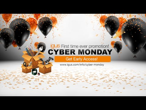 igus® - Cyber Monday 2020