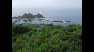 龍飛岬にある津軽海峡冬景色の歌碑です!!