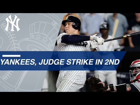 Judge, Yankees' bats come to life in Game 4 of the ALDS