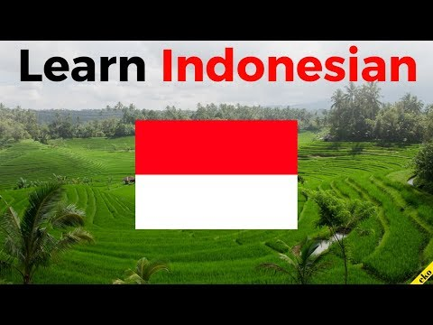 Learn Indonesian While You Sleep 😀  Most Important Indonesia