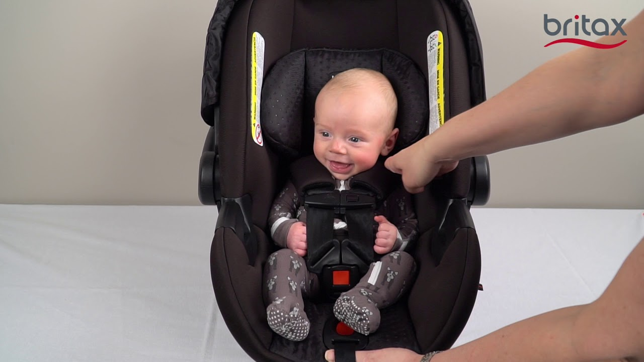 How To Install A Britax Infant Car Seat With European Belt Guide