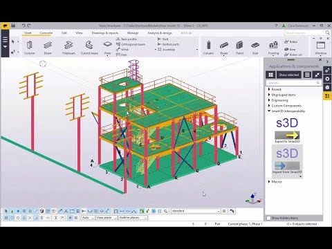 Tekla Structures/Smart3D Interoperability Overview