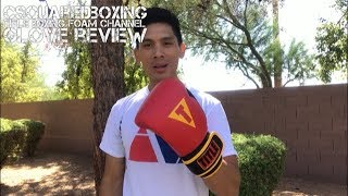 14 Ounce Title Boxing Foam Channel Bag Glove Review