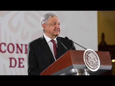 México mantiene buena actividad diplomática. Conferencia presidente AMLO