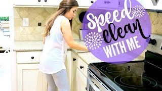 SPEED CLEANING MY HOUSE SAHM | POWER HOUR