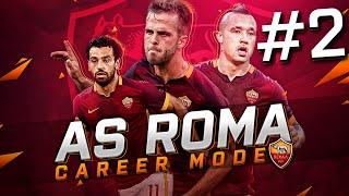 fifa 16 as roma career mode 2 new talented transfers beast goal s1e2