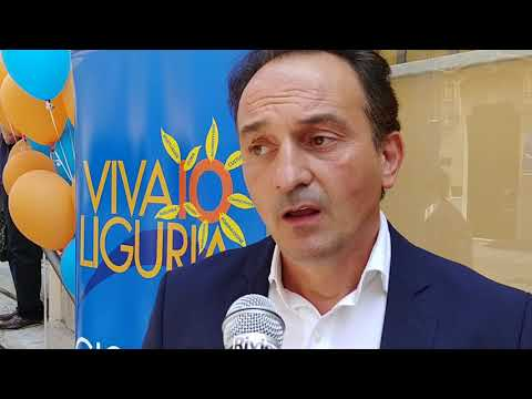 Alberto Cirio, europarlamentare di Forza Italia al Vivaio Liguria