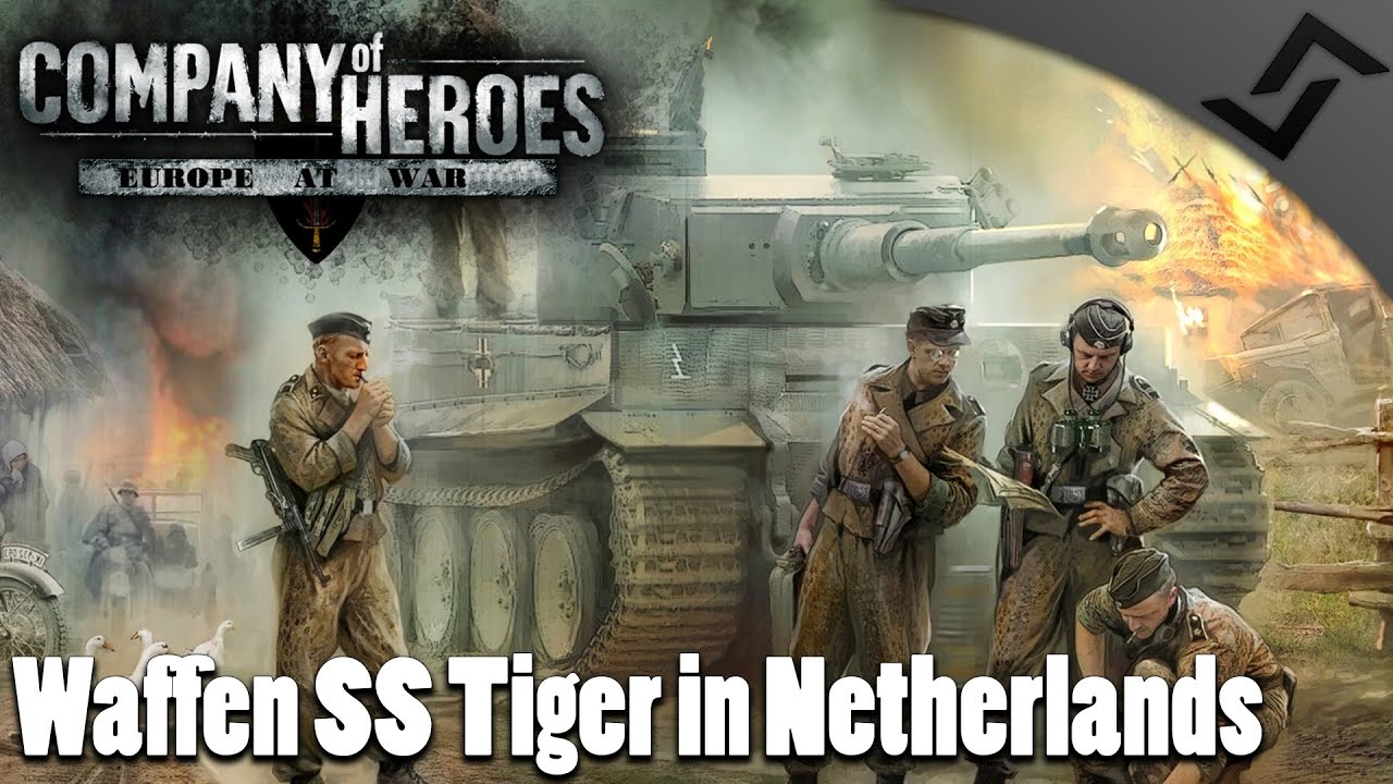Waffen SS Tiger In Netherlands