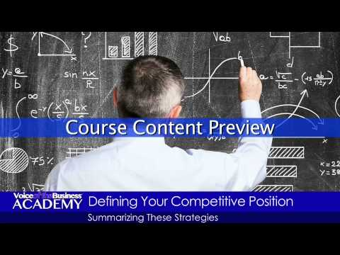 Course Preview: Implementing a Competitor Analysis Intelligence Program