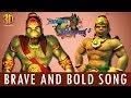 Hanuman Vs Mahiravana - Brave and Bold Song | In Cinemas 6th July