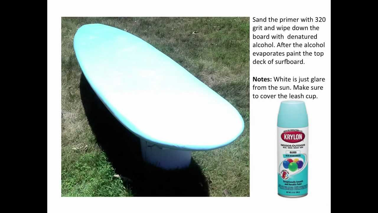 How To Build A Home Depot Surfboard Step By Step   YouTube