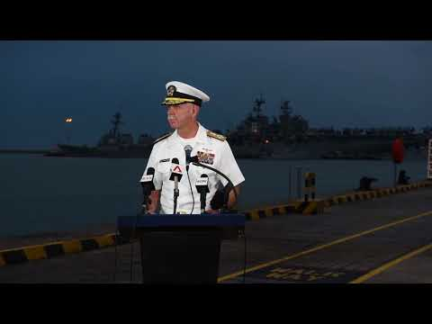 US Navy Admiral Scott Swift confirms remains have been found