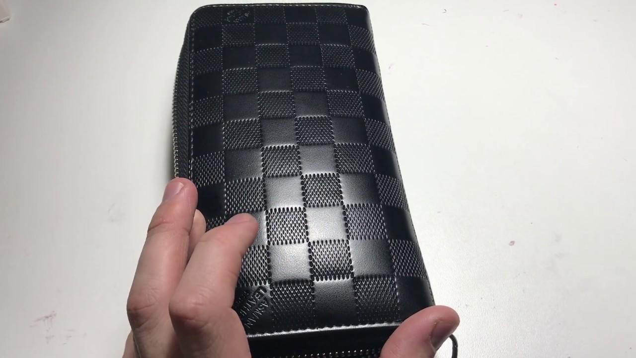 67664d38eb1d Мужской кошелек с Aliexpress. Копия Louis Vuitton (очень не похожая копия)