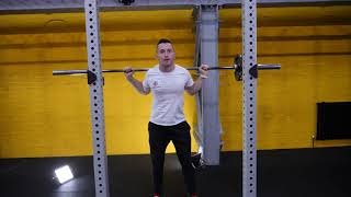 Barbell Back Squat and Lunge