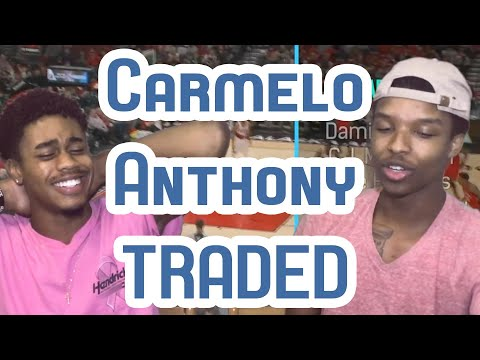 MELO TRADED TO OKC!! PREDICTING THE NBA WESTERN CONFERENCE RECORDS! BLACK9NE!