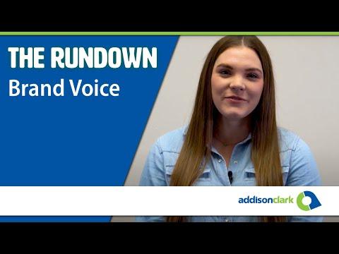 The Rundown: Brand Voice