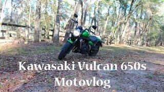 You Can't Ride My Bike | Motovlog | New Gloves | Kawasaki Vulcan 650