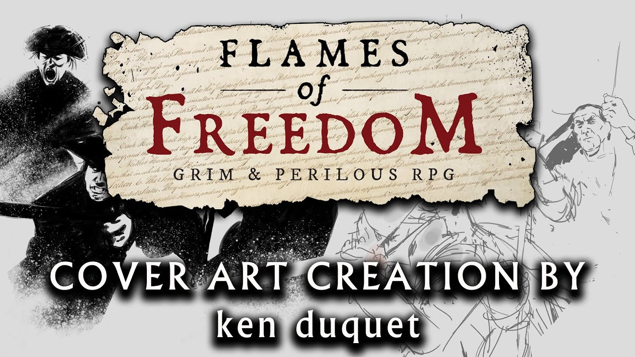 Flames of Freedom: Cover Design