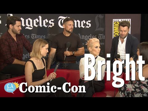 """""""Bright"""" Cast Says The Film Is Woke AF: Comic-Con 