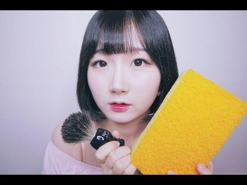 [한국어 ASMR , ASMR Korean] 쓱싹쓱싹 귀청소 귀를 닦아줄게요 ! | Bubble Ear Cleaning & Washing