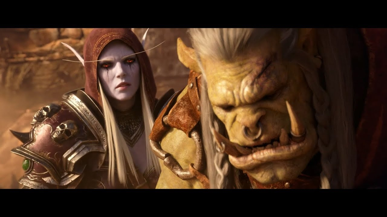 World of Warcraft: Battle For Azeroth - All Cinematic Trailers thumbnail