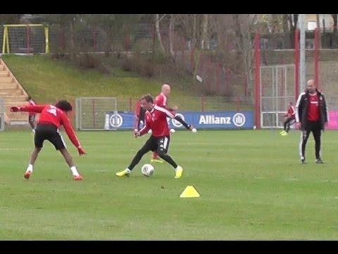 Götze Robben Lahm Müller Dante Contento Boateng Kroos Shaquiri dribbling skills - FC Bayern Munich