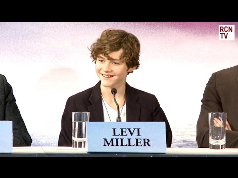 Levi Miller Interview Pan Premiere