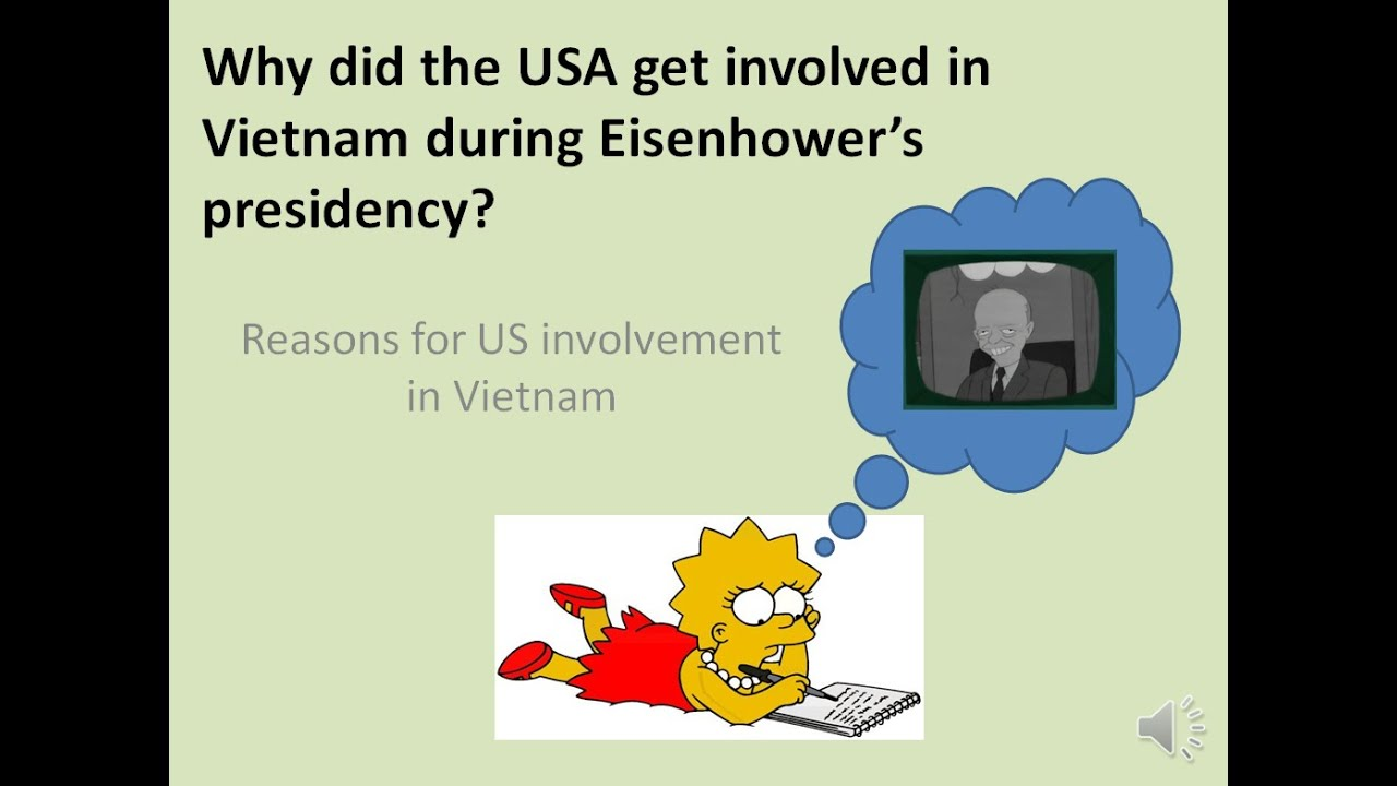 how and why did usa become involved in the vietnam war essay