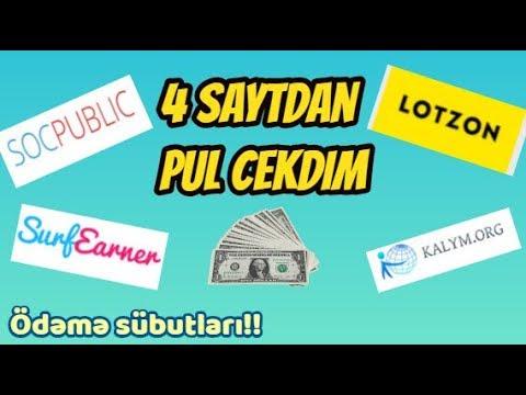 4 SAYTDAN PUL CEKDİM PUL ODEYİRLER!!!