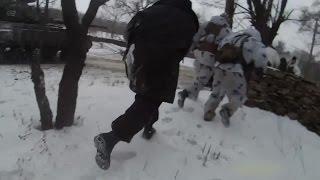 Бои под Дебальцево - Начало наступления. Ополченцы, Новороссия.