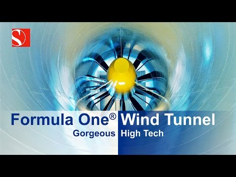Formula One Wind Tunnel - Gorgeous High-Tech - Sauber F1 Team